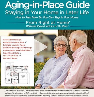 Aging in Place Guide brochure cover