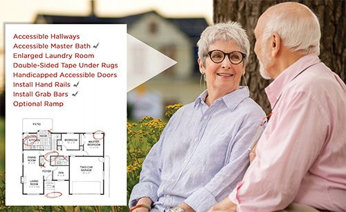 Aging in Place cover image with a senior couple and home.