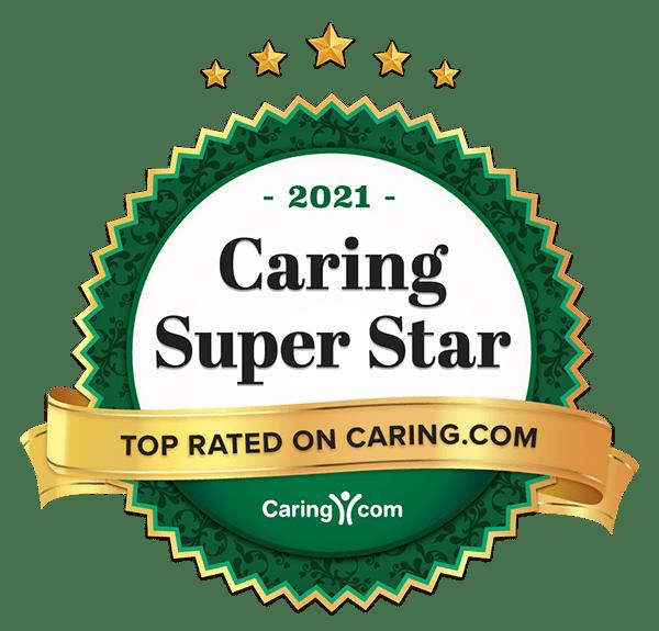 2021 Caring Super Star winner