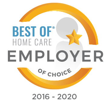 Best of Home Care Employer of Choice 2016-2020