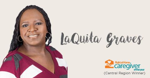caregiver of the year 2017 central region winner laquita