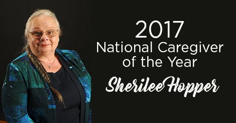 Caregiver of the Year 2017 - Sherilee Hopper