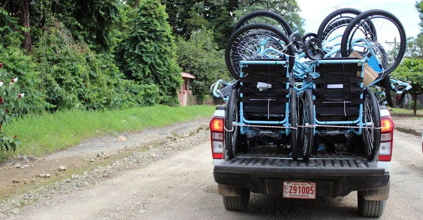 free wheelchair mission delivering wheelchairs