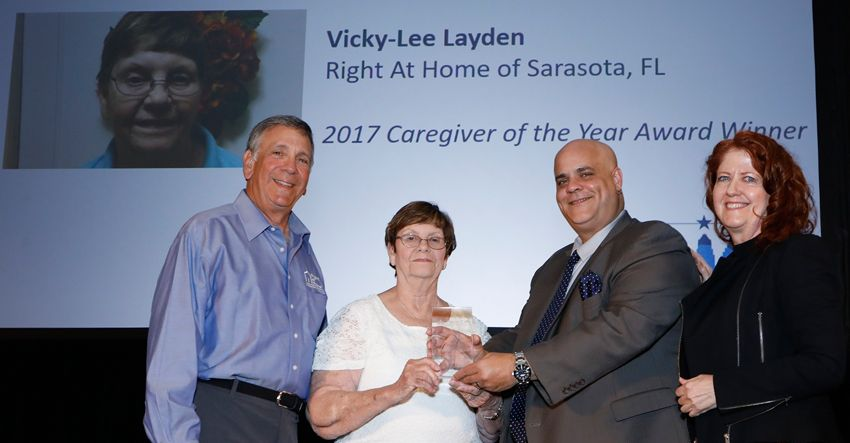 home care association of america caregiver of the year 2017