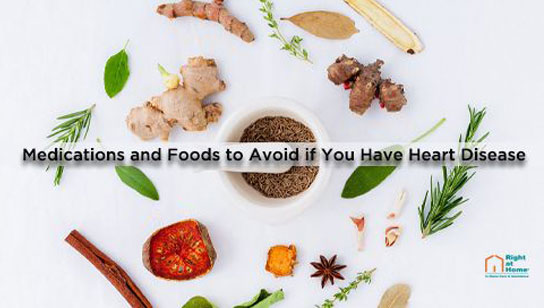 medication and foods to avoid if you have heart disease
