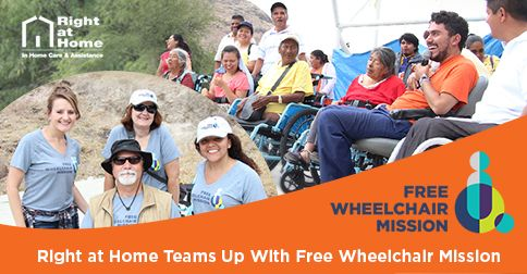 Free Wheelchair Mission Vision Trip