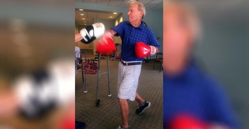 fighting parkinson