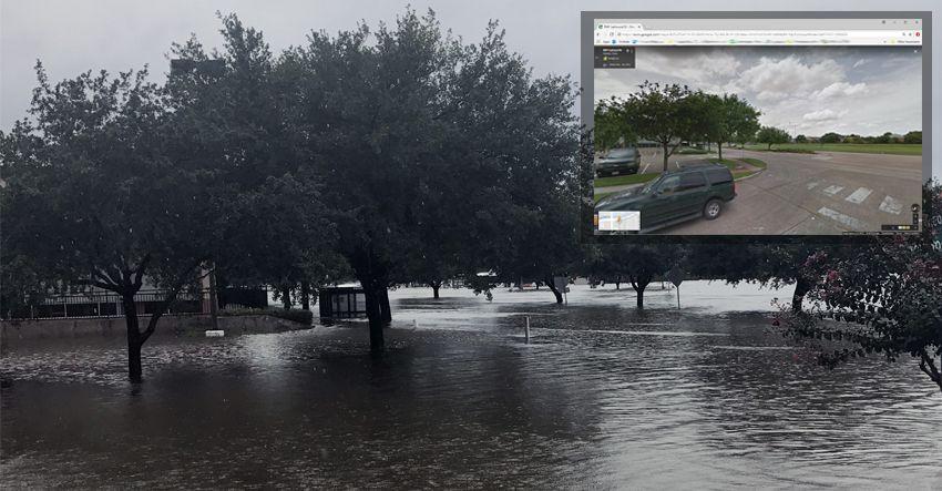 hurricane harvey flooding s braeswood 6500 blvd