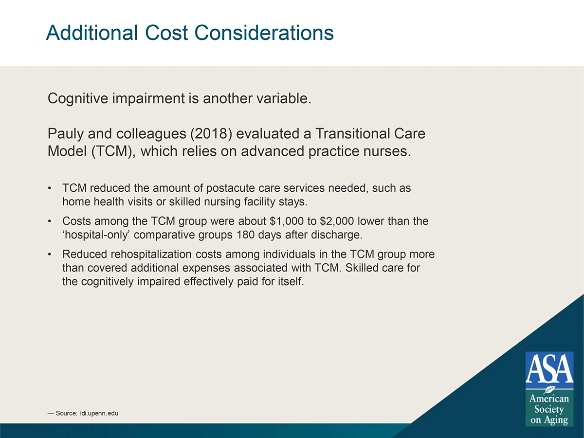 care transitions additional cost considerations