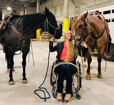 amberley snyder with horses