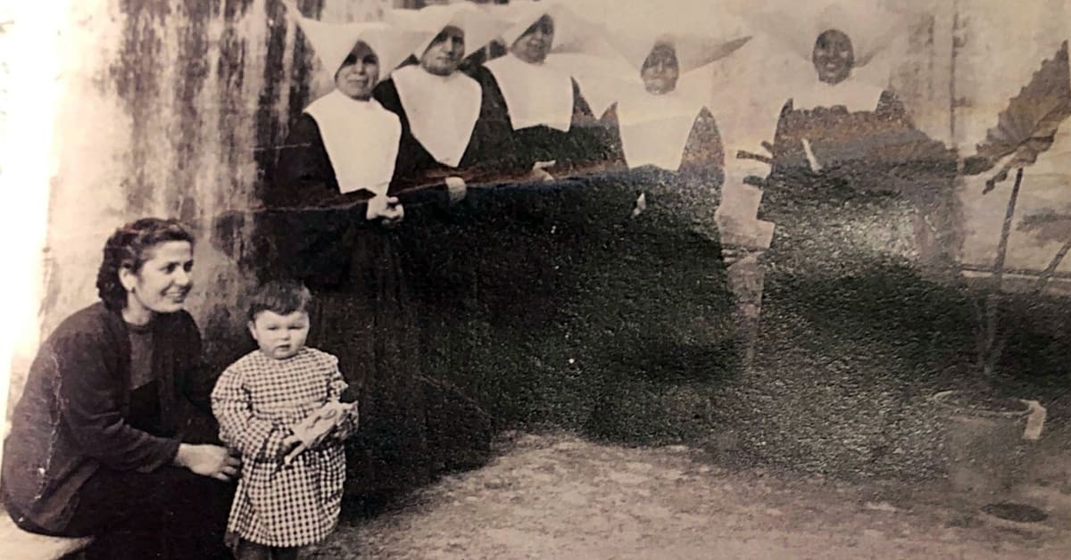 lucy allen small child with nuns