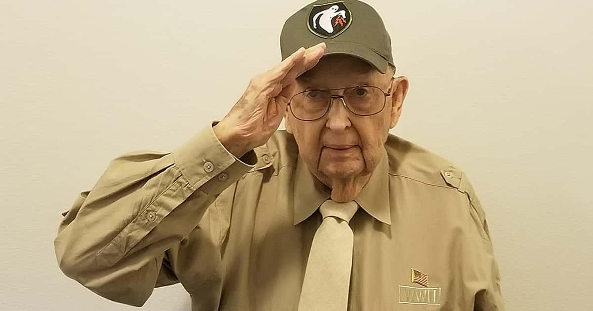 WWII Veteran Anderson Wilson