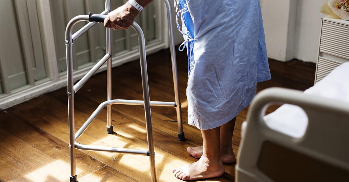 walker patient hospital