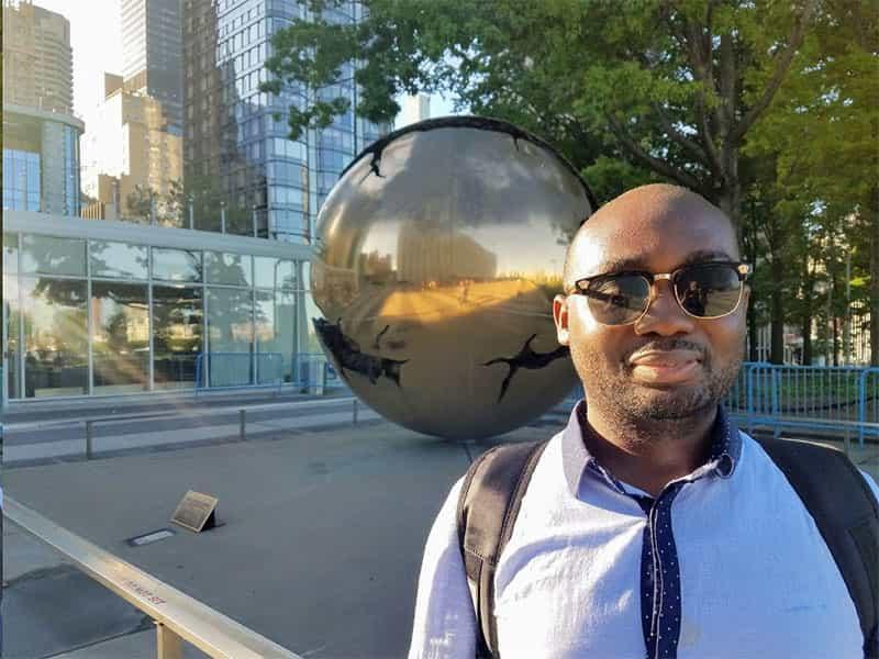 Theo Odaudu in NYC