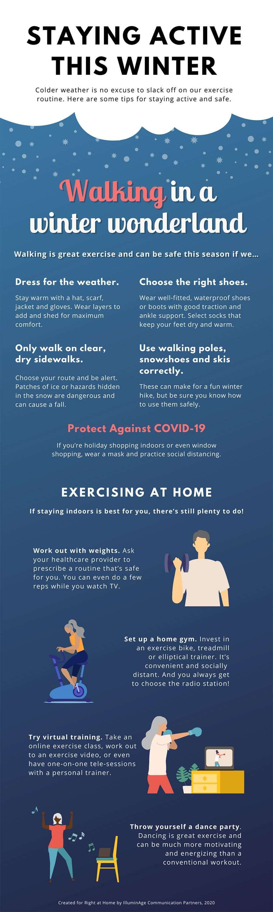 Infographic: Staying Active This Winter