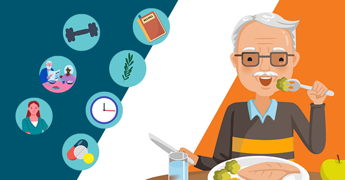 Appetite Tempting Tips for Healthy Seniors Infographic Right at Home