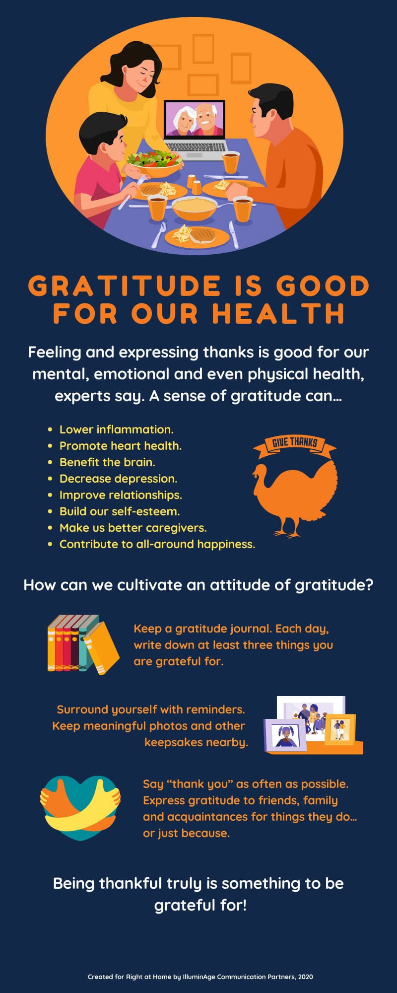 Infographic: Gratitude is Good