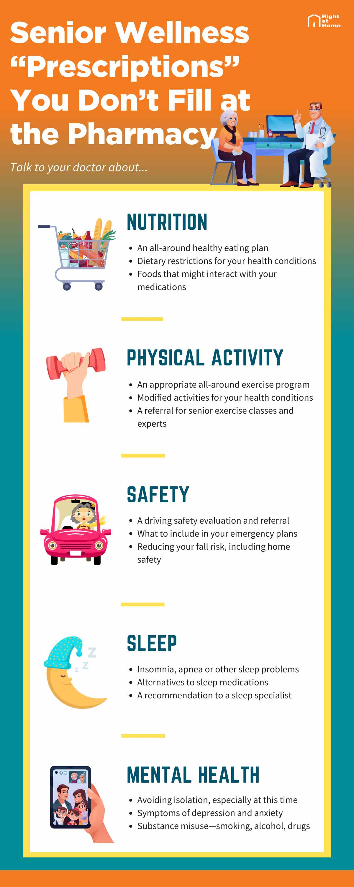 Senior-Wellness-Prescriptions-You-Don't-Fill-at-the-Pharmacy Infographic