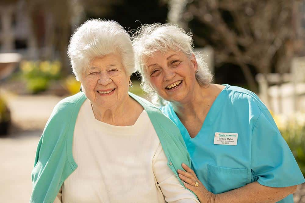 client and caregiver