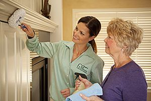 caregiver housekeeping for senior