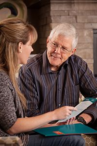 Right at Home In-home care consultation