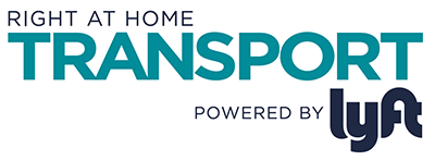 Right at Home Transport powered by Lyft