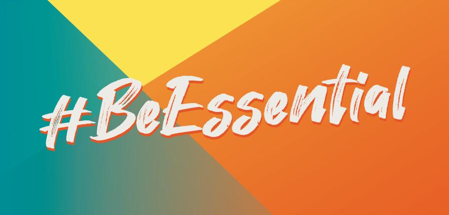Be Essential hashtag