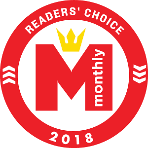 Hilton Head Monthly 2018 Reader's Choice Award for Right at Home Hilton Head In Home Care Agency