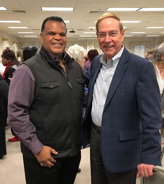 Greg Brewer & Dr. Chapman