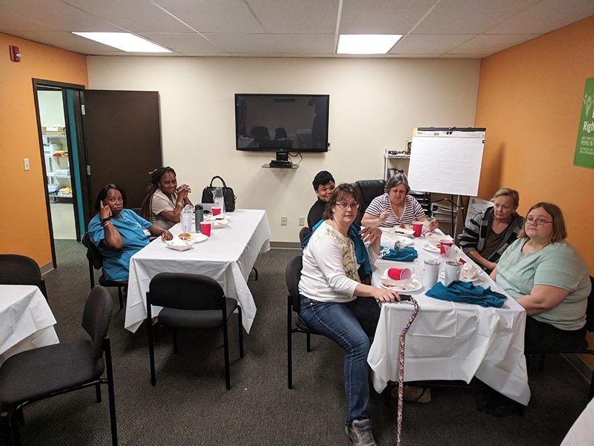 caregiver party