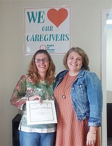 Caregiver of the Month