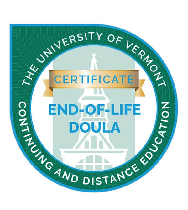 university of vermont end of life doula logo