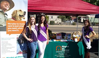 Mountain View Community Health Fair Booth