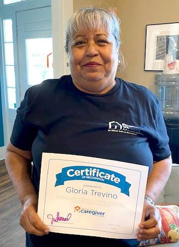 Caregiver Gloria Trevino