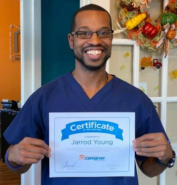 Caregiver Jarrod Young