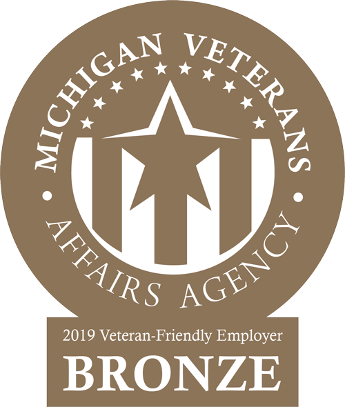 Certified Veteran Friendly Employer Badge