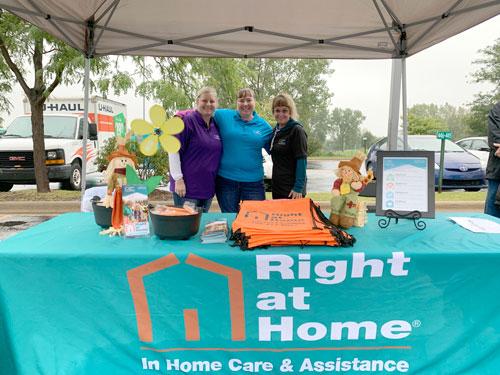 2019 Orland Park Il Alzheimer's Walk Participants