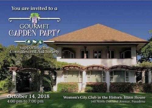 CAS Gourmet Garden Party