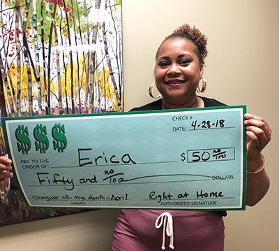 Caregiver Erica
