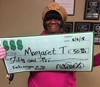 Caregiver Margaret