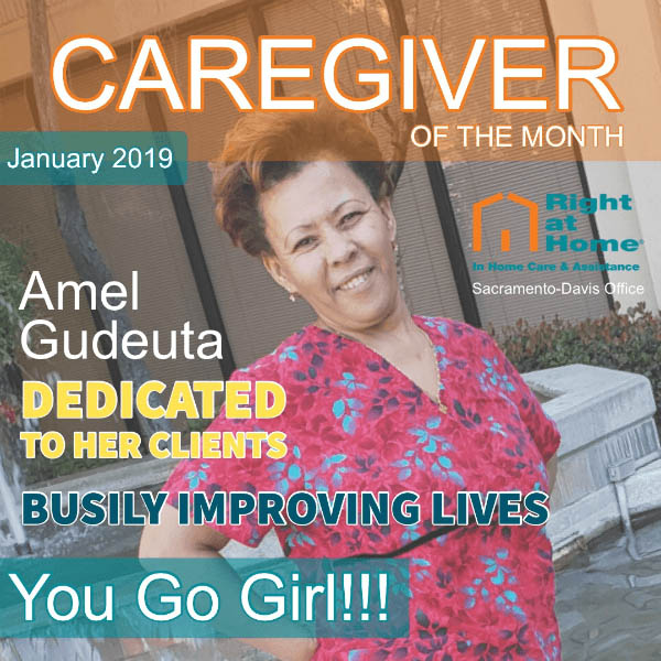 Caregiver of the Month January 2019 - Amel Gudueta