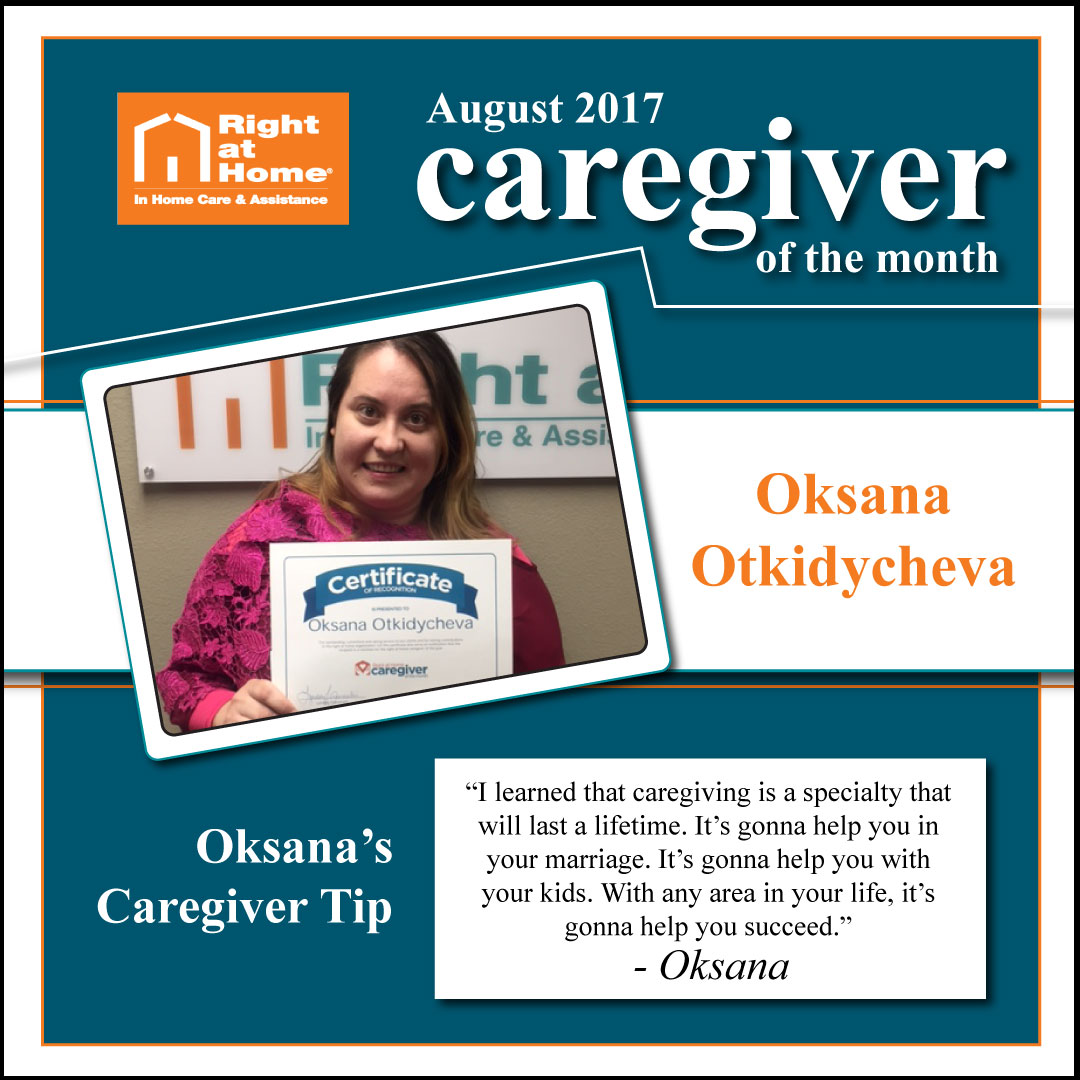 Sacramento Caregiver of the Month for August
