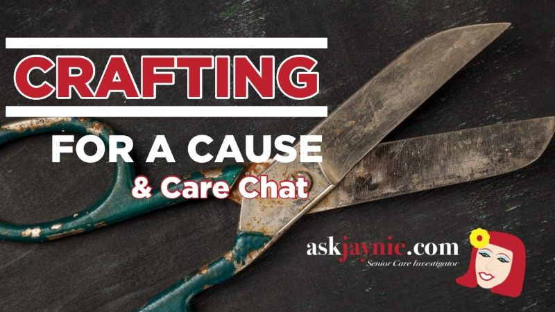 Crafting for a Cause event image header graphic