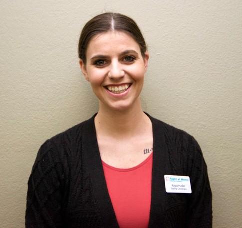 Kayla Hudler - Staffing Coordinator Right at Home Sacramento Davis