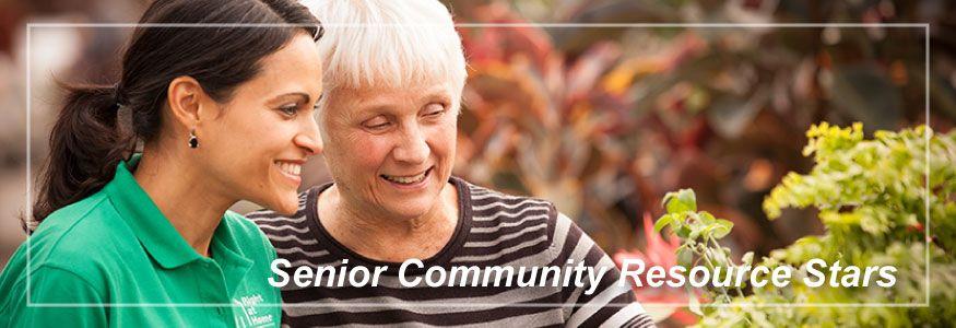 Senior Community Resource Stars