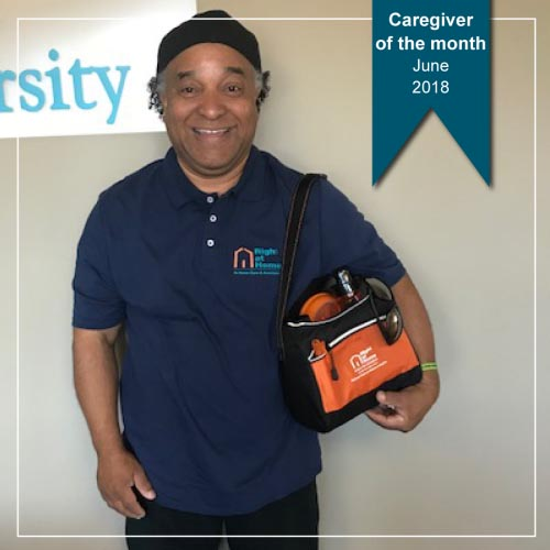 Ron - June Caregiver of the Month
