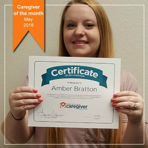 May Caregiver of the Month