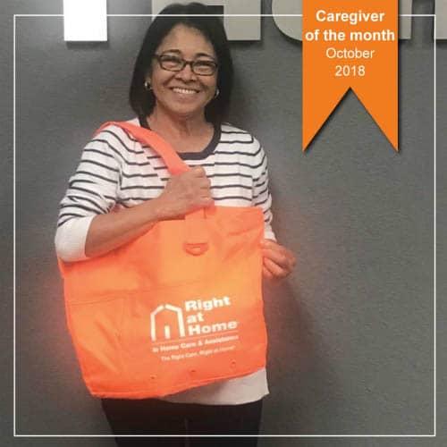 Elizabeth Abear, October Caregiver of the Month