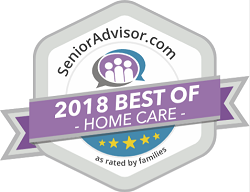Winner of Senior Advisor 2018 Best of Home Care Award in North Carolina