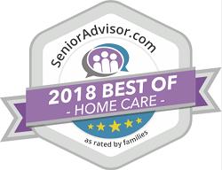 Winner of Senior Advisor 2018 Best of Home Care Award in North Carolina